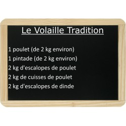 Le lot de Volaille Tradition