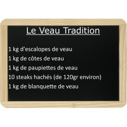 Le lot de veau Tradition