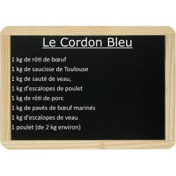 Le lot Cordon bleu