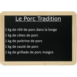Le lot de porc Tradition