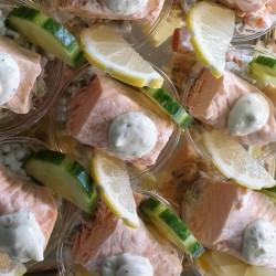 Pavés de saumon en Bellevue