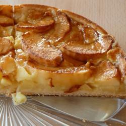 Plaque de tarte aux pommes...